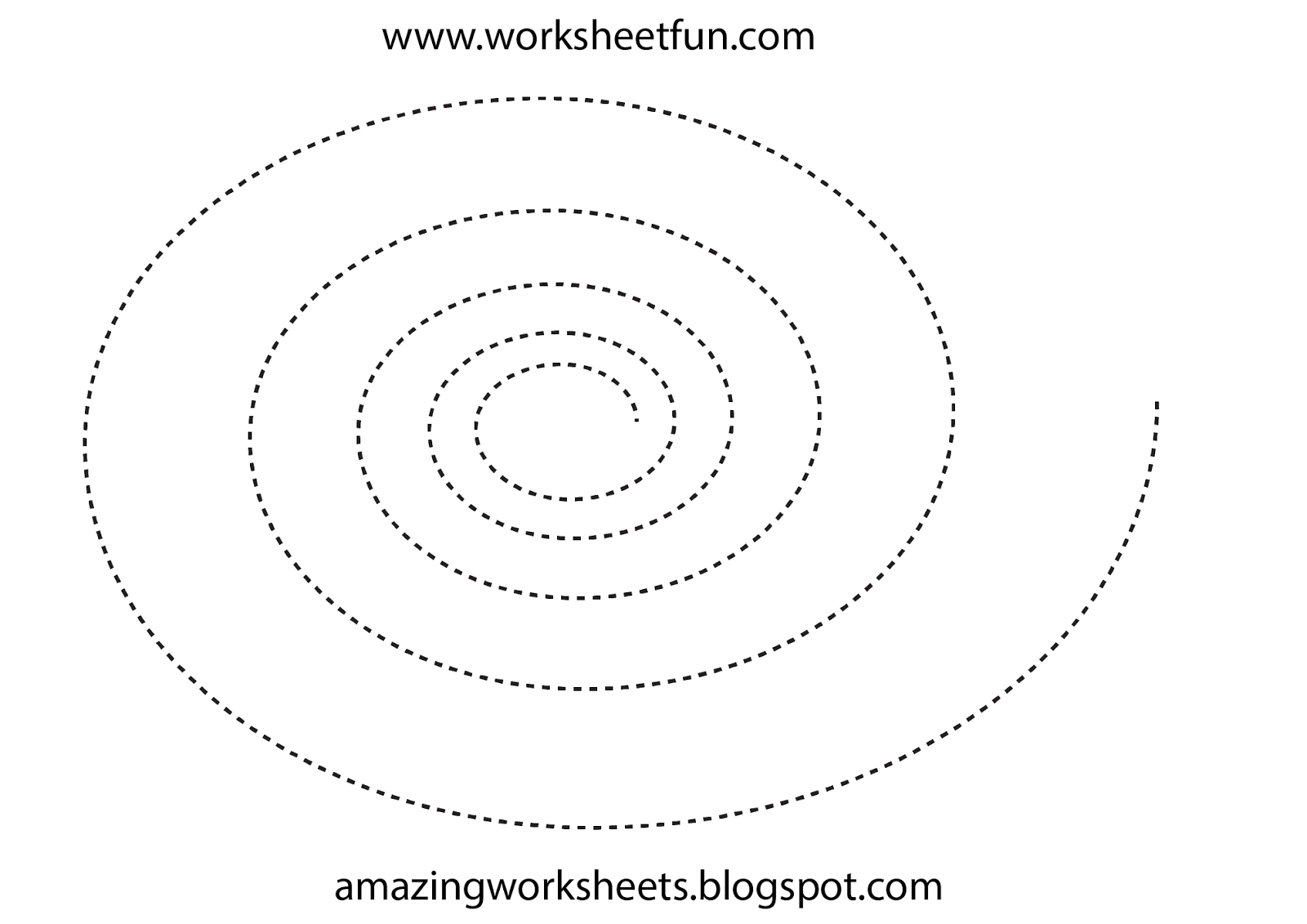 Free Tracing Sheets Preschool Worksheets