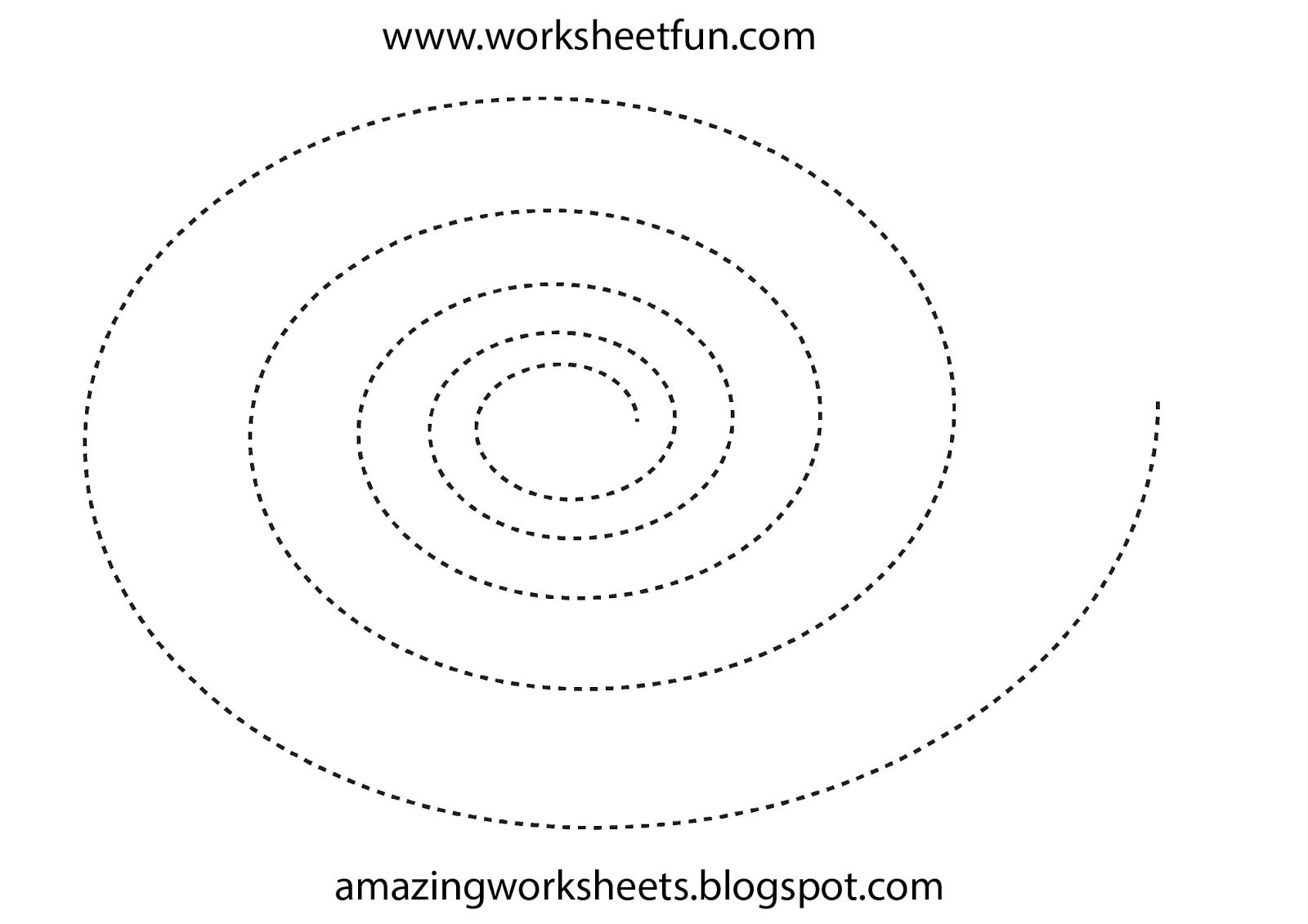 Free Tracing Sheets Preschool Worksheets