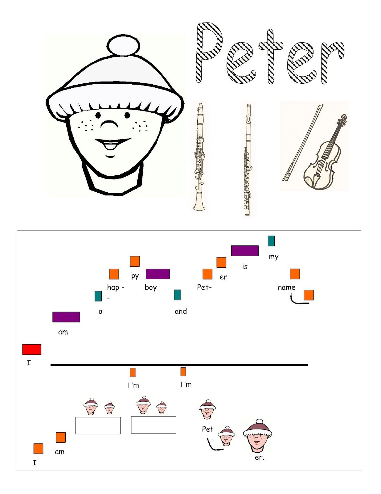 Music Lessons For The Young Child Peter And The Wolf