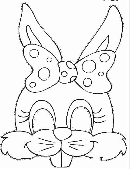 rabbit mask template Google meklēšana dekori