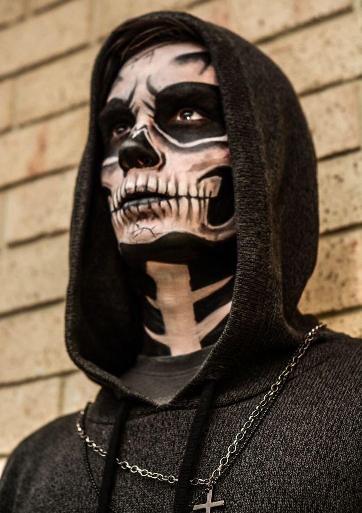 30 Halloween Makeup Ideas for Men Sugar skulls, Sugaring