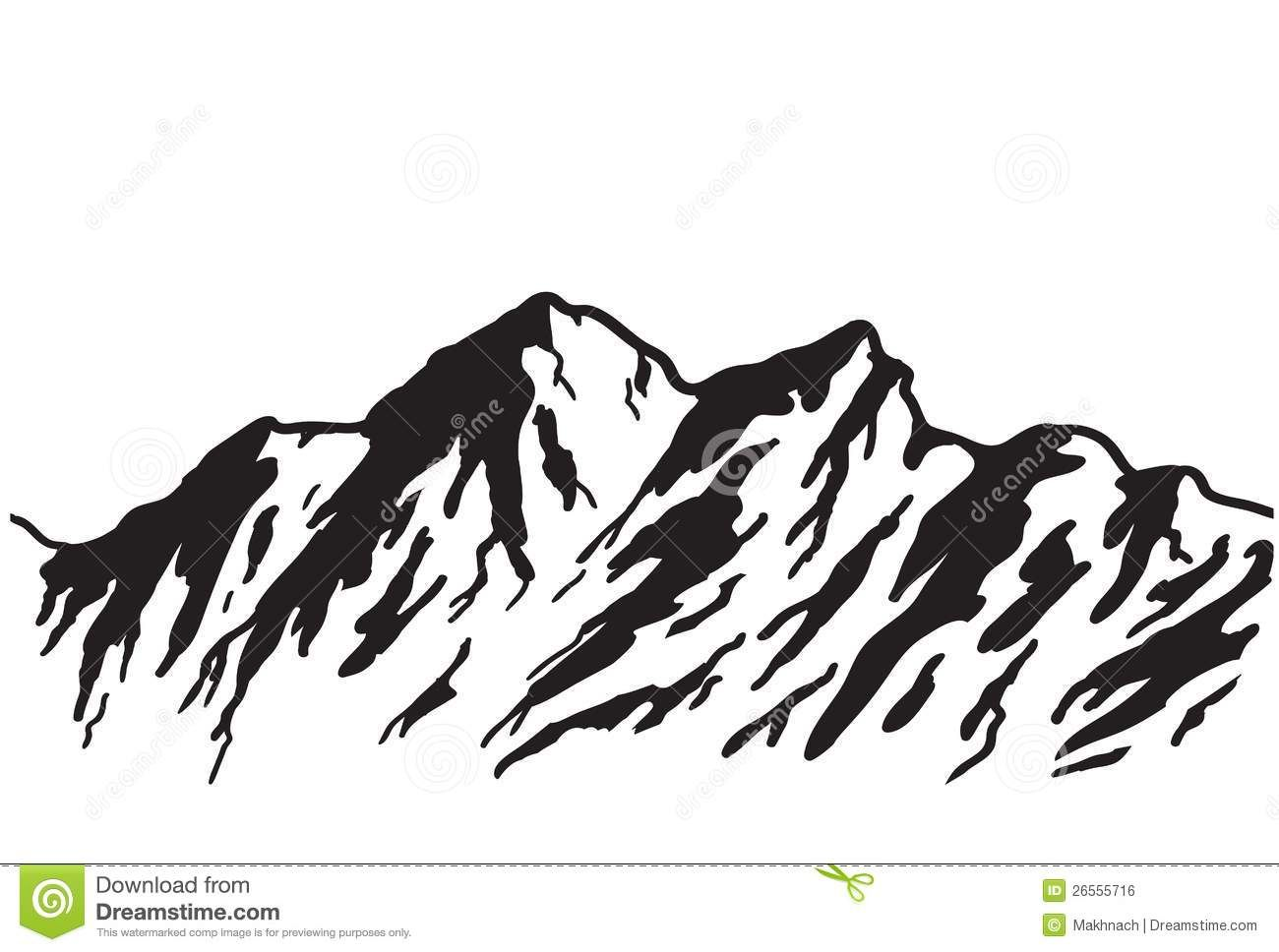 Mountain Outline Drawings Related Keywords Amp Suggestions