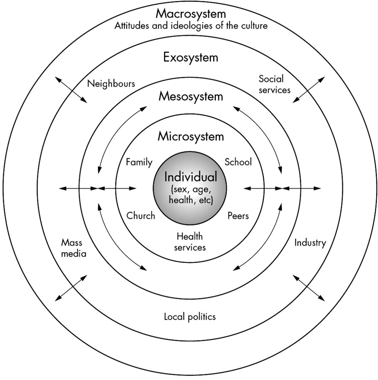 Bronfenbrenner S Ecological Model