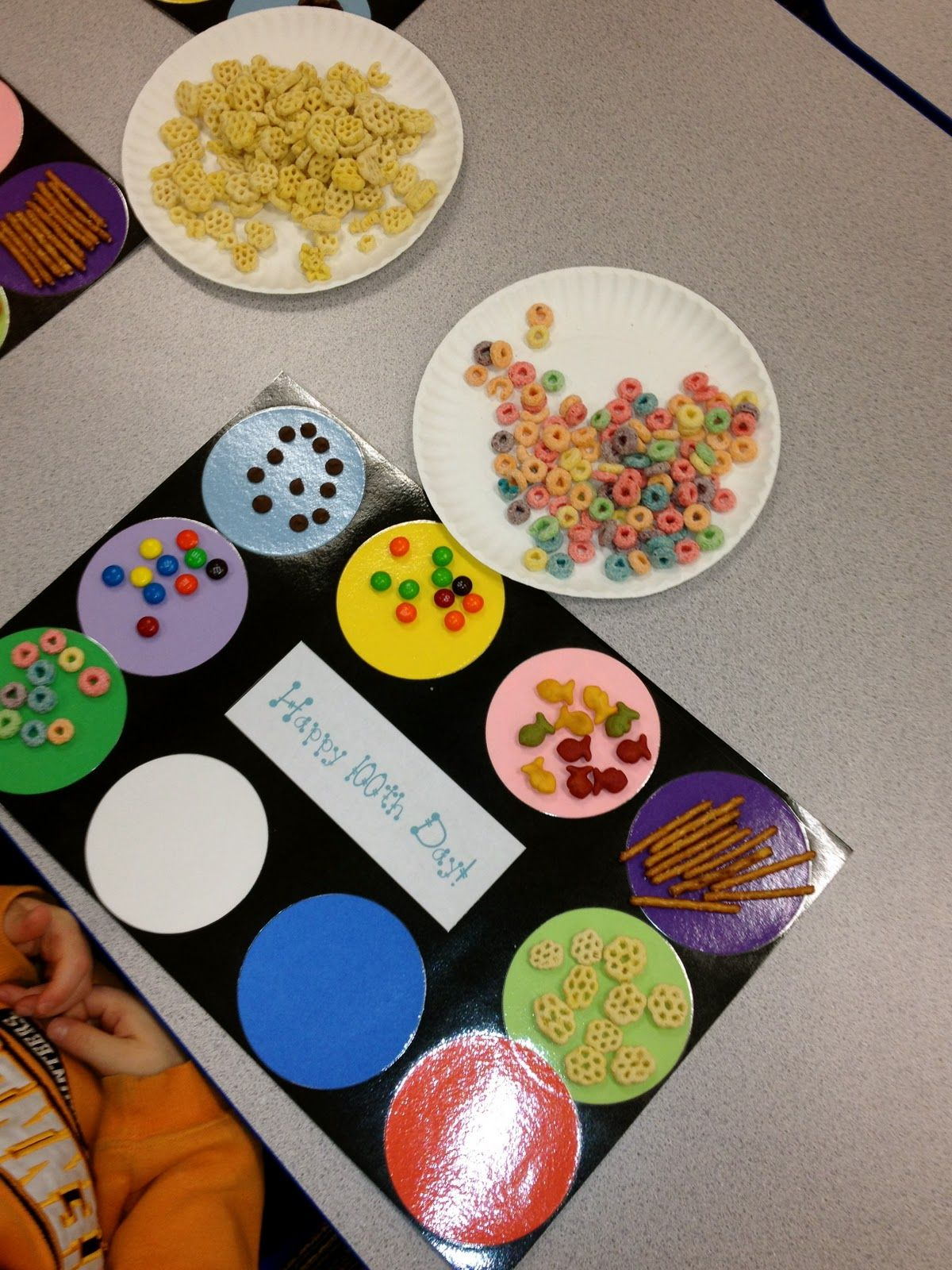 100 Days Of School Sort I Ll Use Math Manipulatives