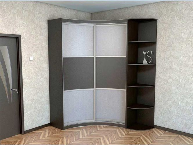 Corner Wardrobe Closet And Shelves Design For Small Bedroom Furniture