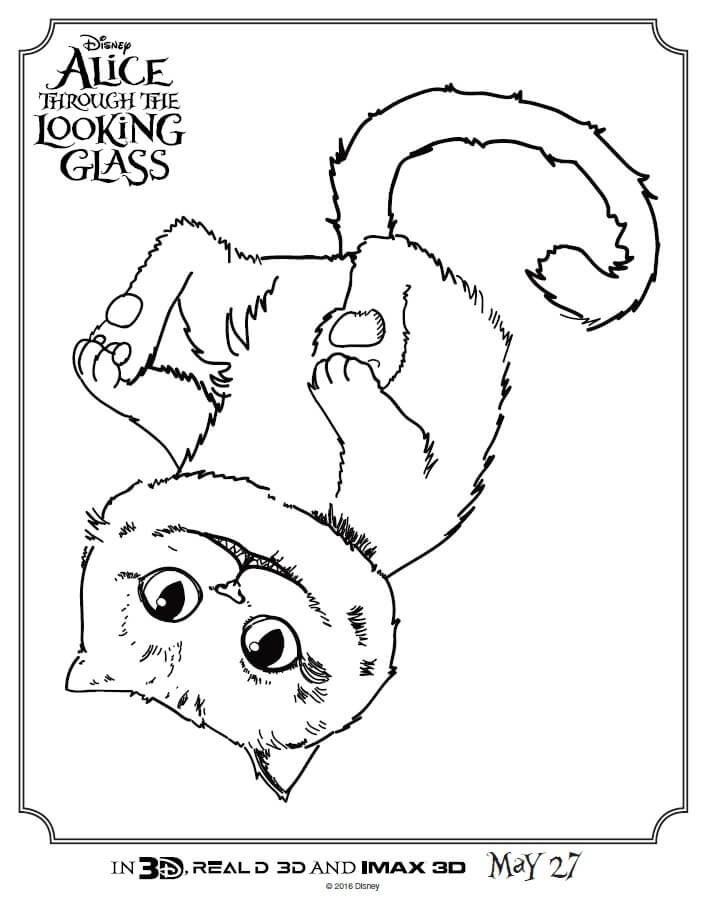 through the looking glass coloring pages and coloring on pinterest