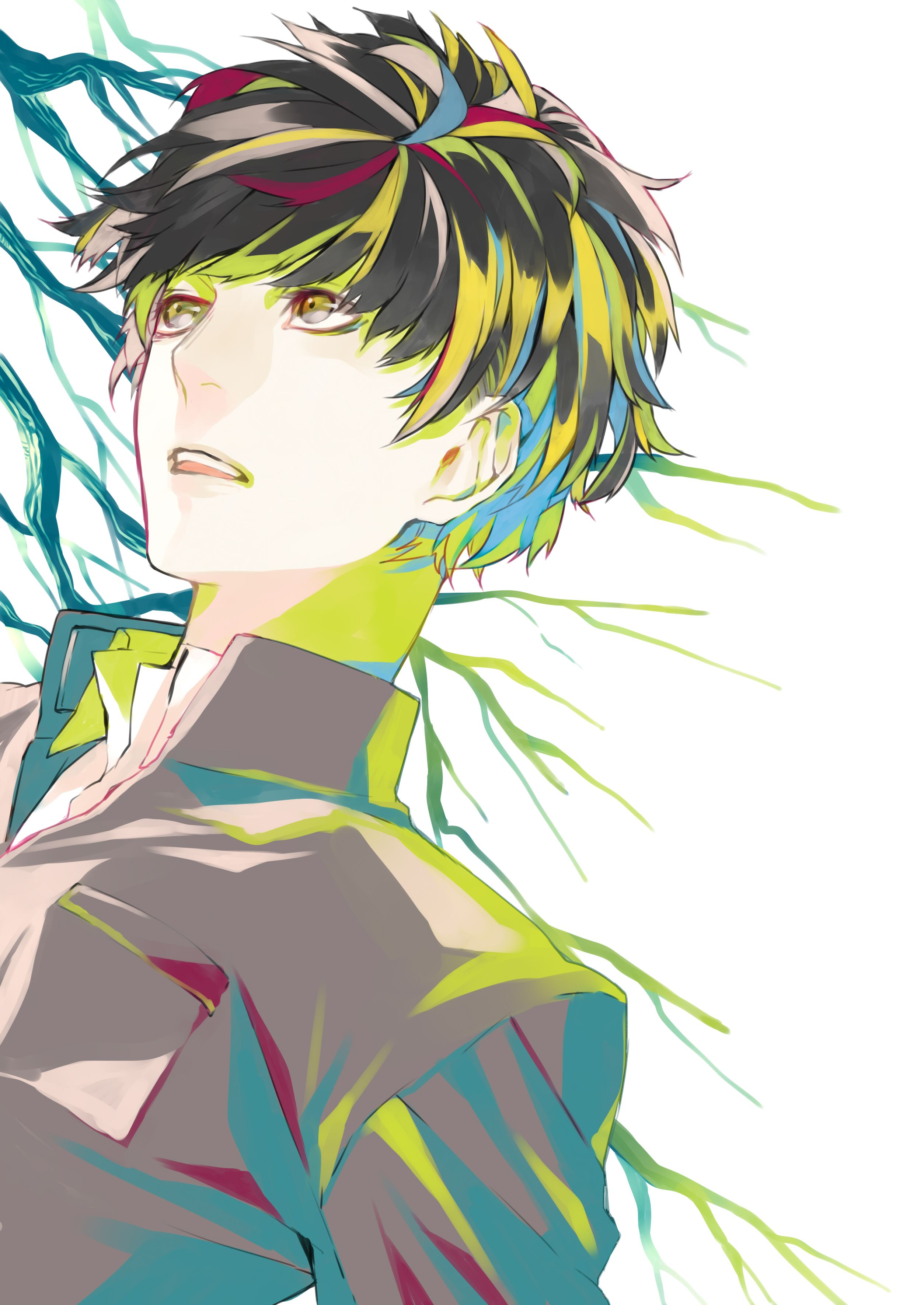 TagsApplepiefasna, Multicolored Eyes Anime