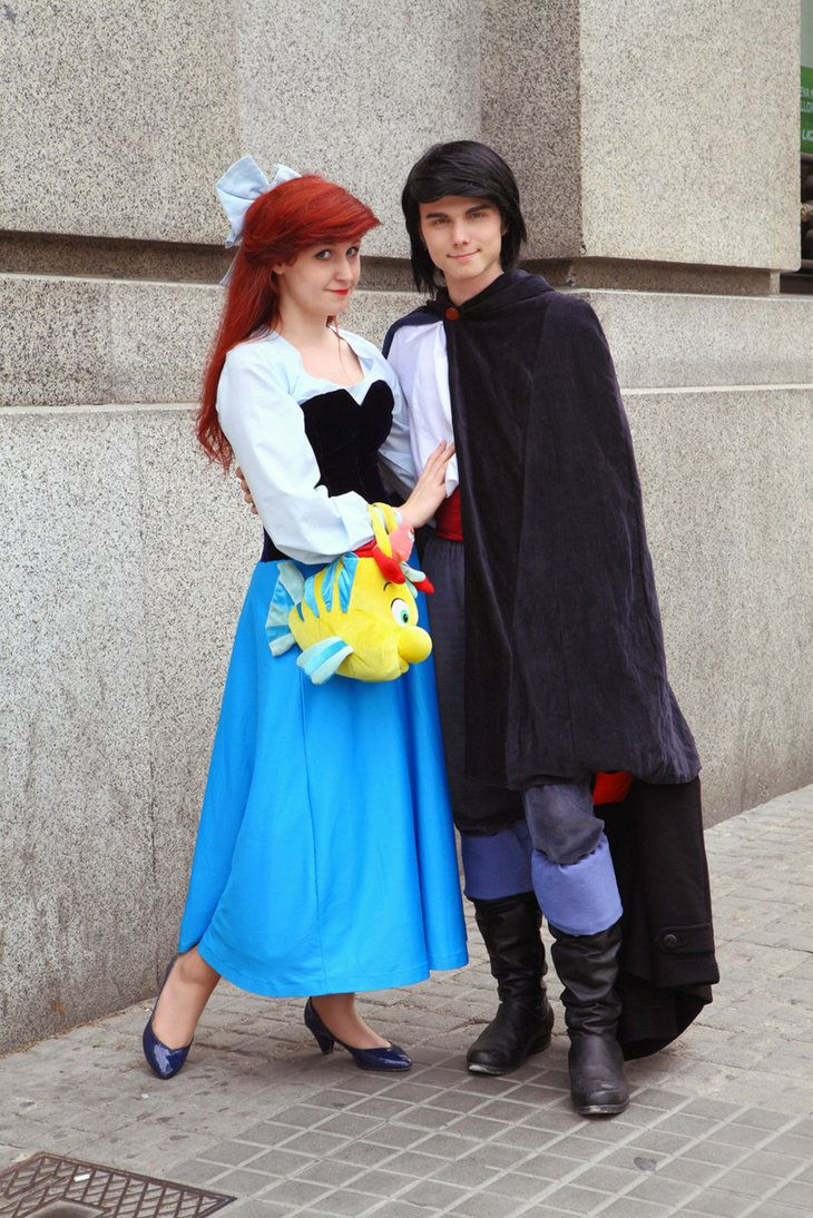 Ariel and Eric Cosplay by ArielVanDeKamp got say this