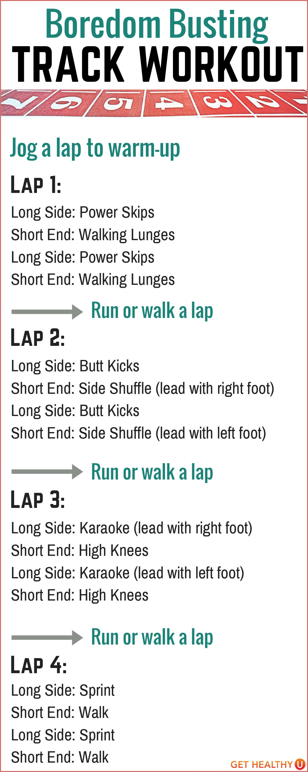 High School Track And Field Sprint Workouts
