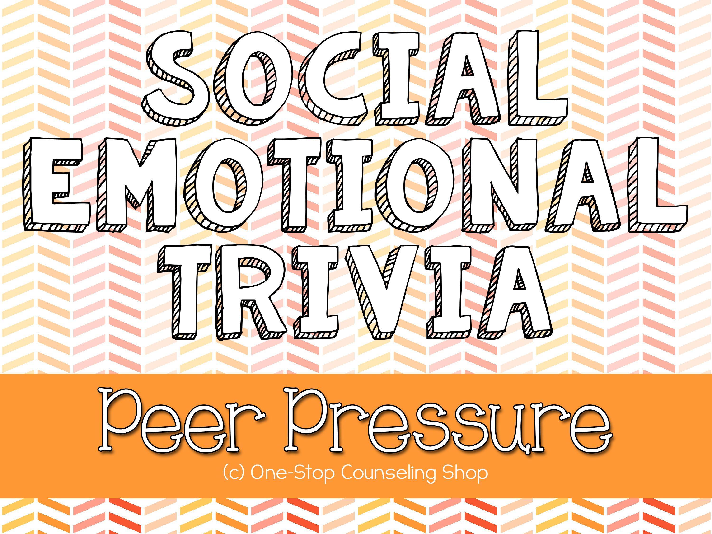 Interactive Peer Pressure Trivia Game