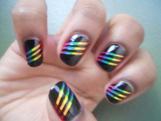 Finger Nail Painting
