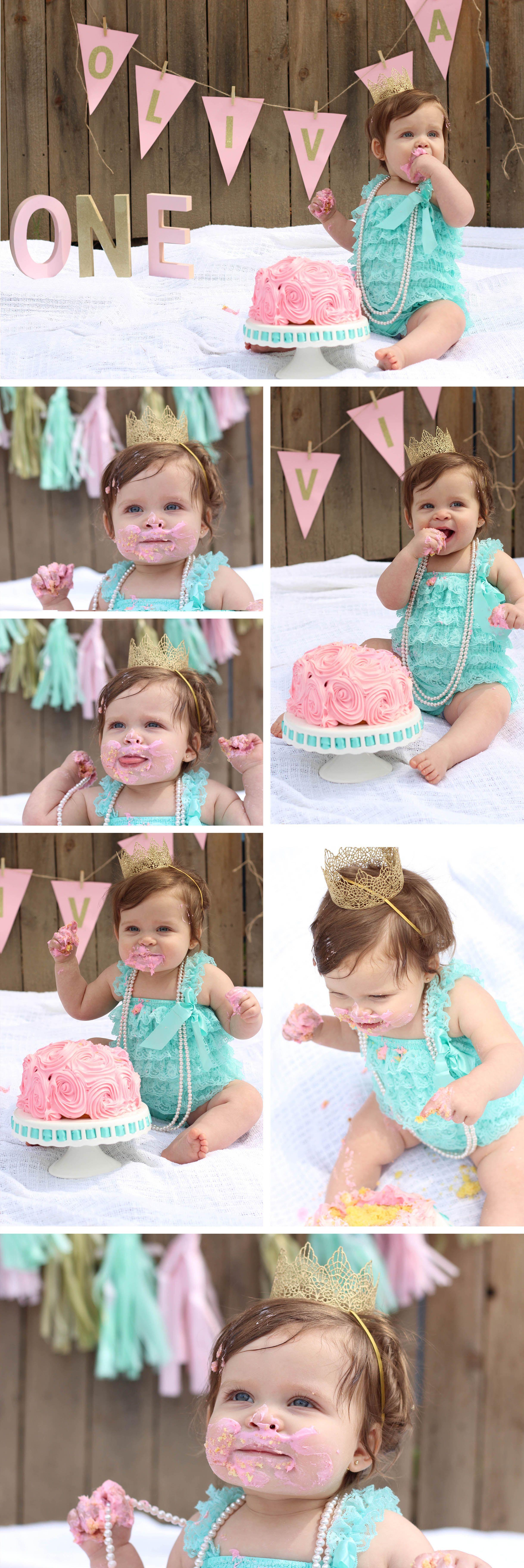 Diy First Birthday Cake Smash