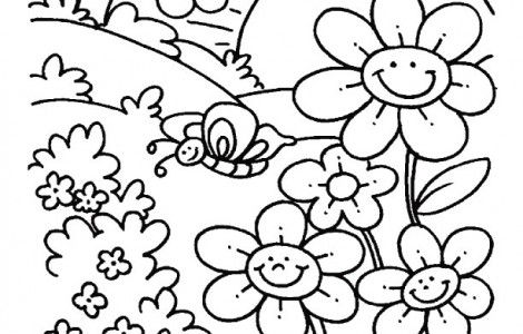 1000 images about spring on pinterest spring coloring pages