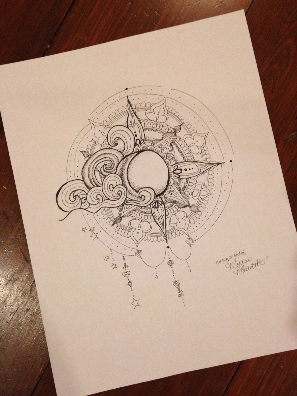 Sun and Moon Print by on Etsy, 10.00 I