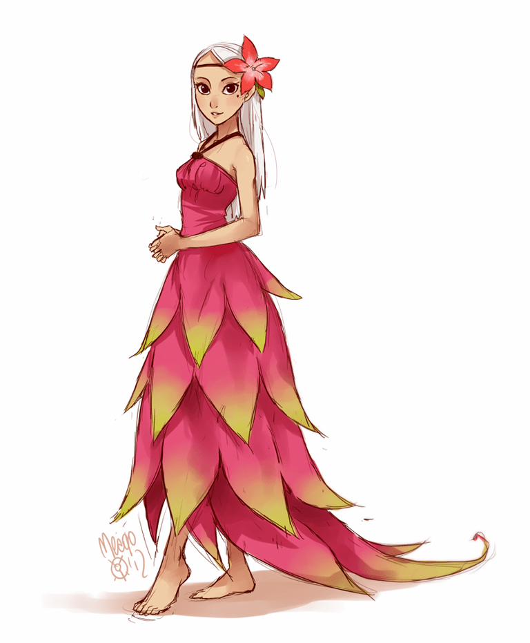 dragonfruit fullbody by on