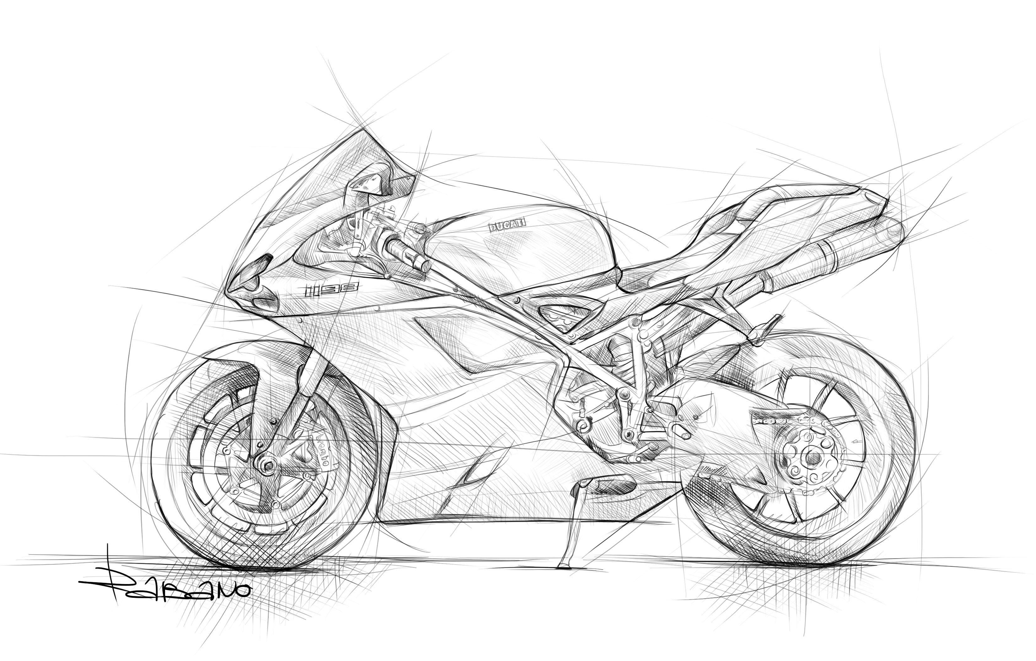 Drawing Ducati