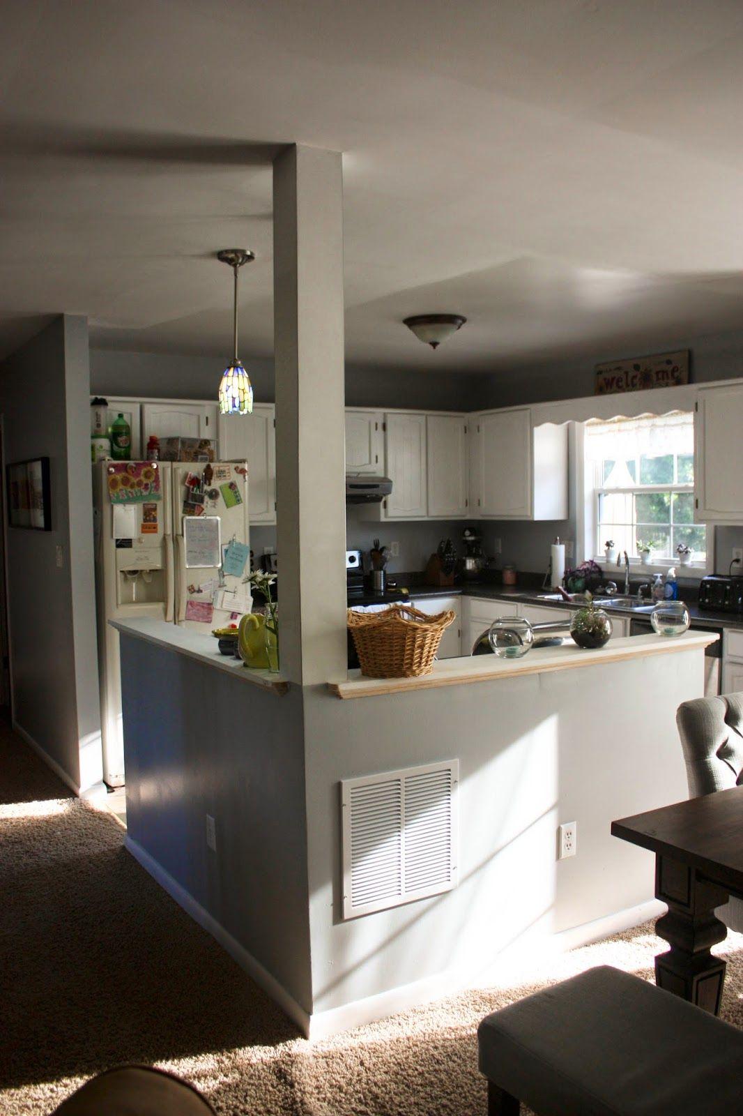 Split Level Kitchen On Pinterest Split Foyer Split