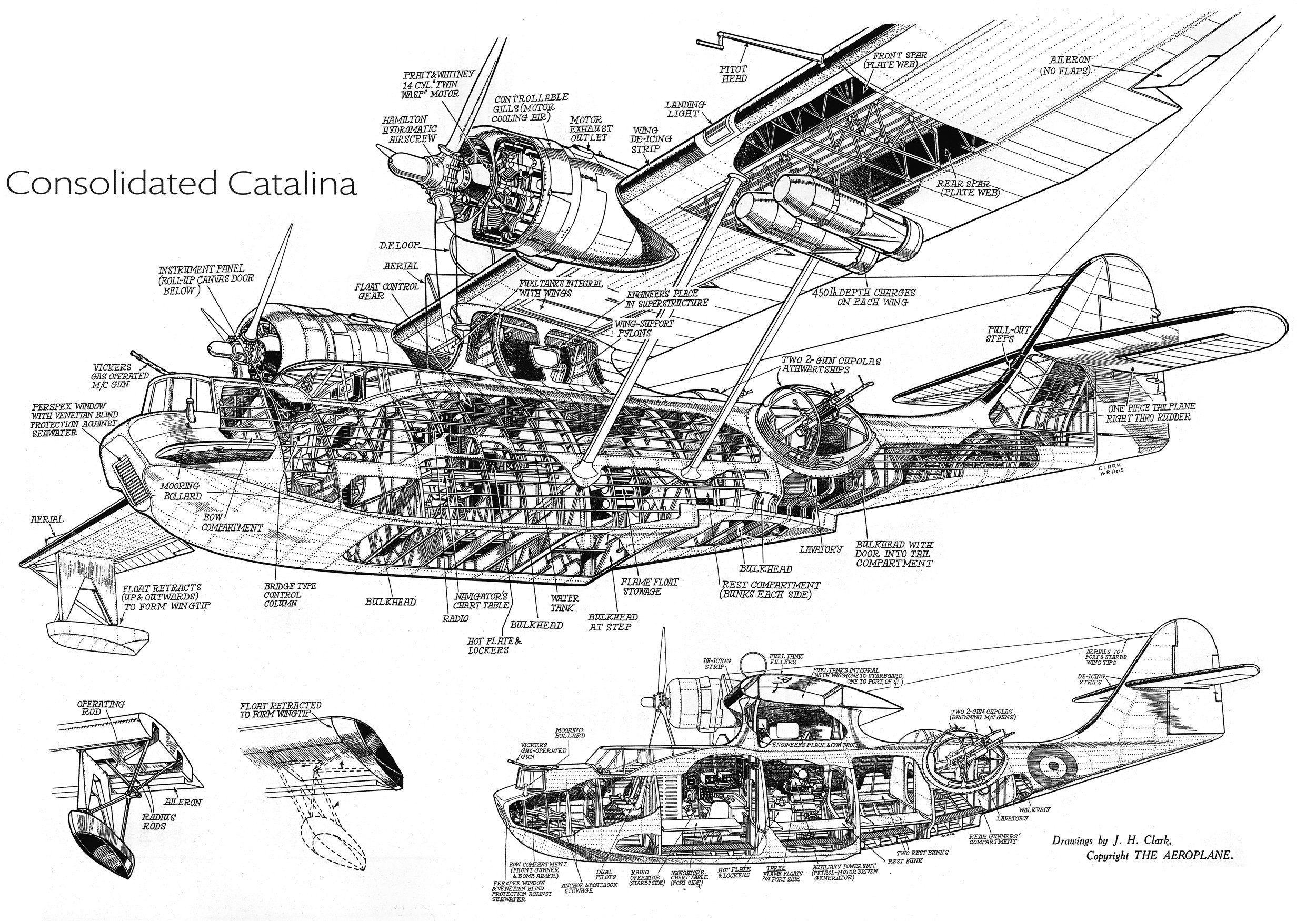 Wwii Catalina Pby Flying Boat
