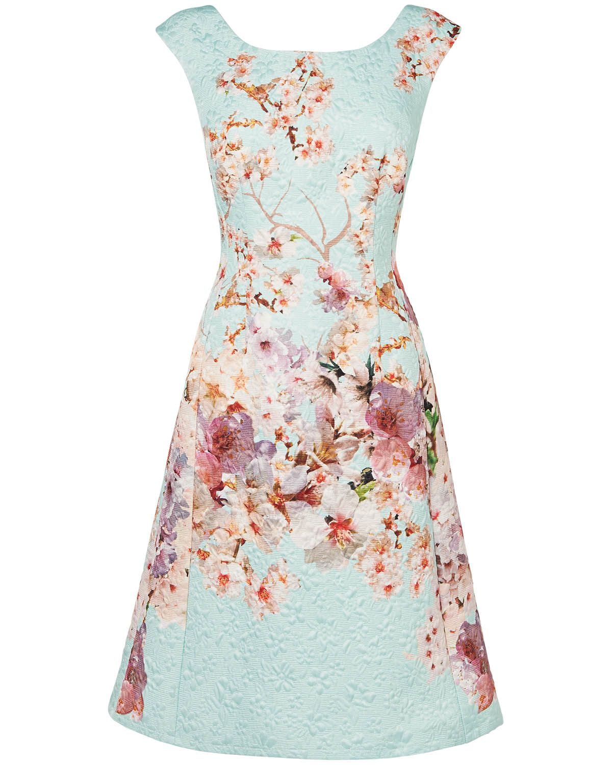 Phase Eight Chatsworth Floral Dress Ivory