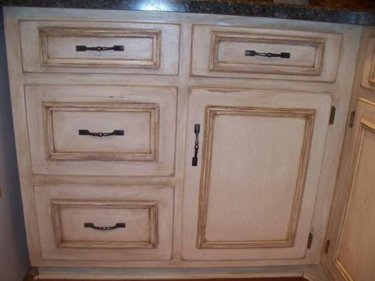 Before And Afters Clients Paint Glaze Their Kitchen Cabinets