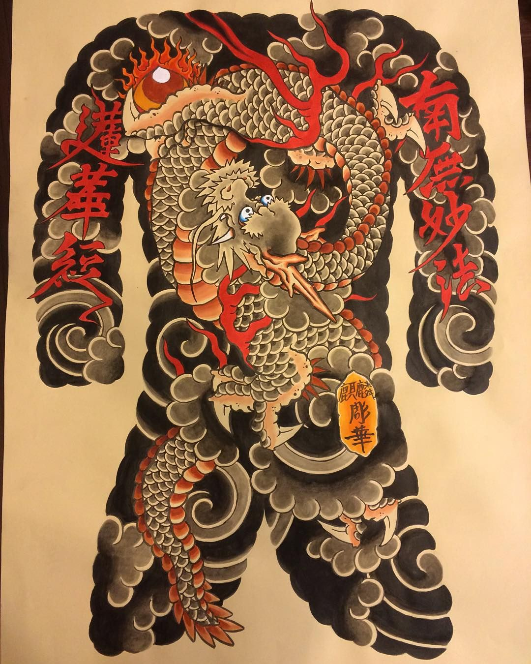 Horihana fullback Pinterest Tattoo, Oriental and