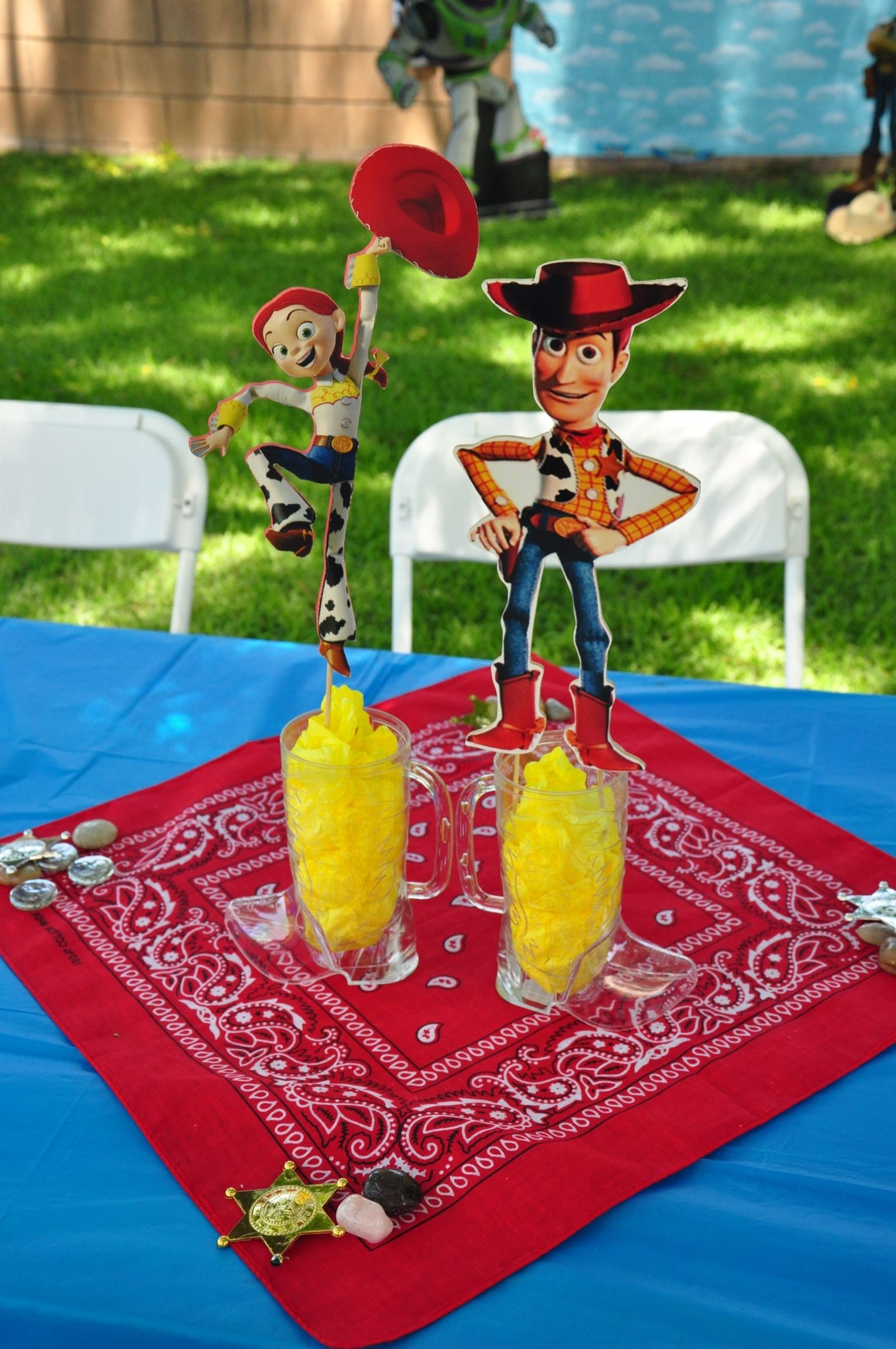 Toy story centerpiece My craft projects Pinterest