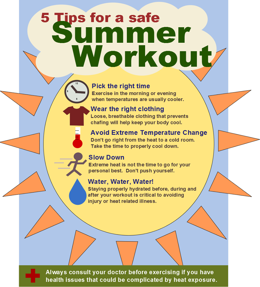 5 Tips for a Safe Summer Workout. GET FIT, FITNESS