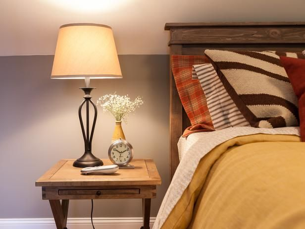 blog cabin 2012: guest bedroom pictures | rustic chic, nightstands