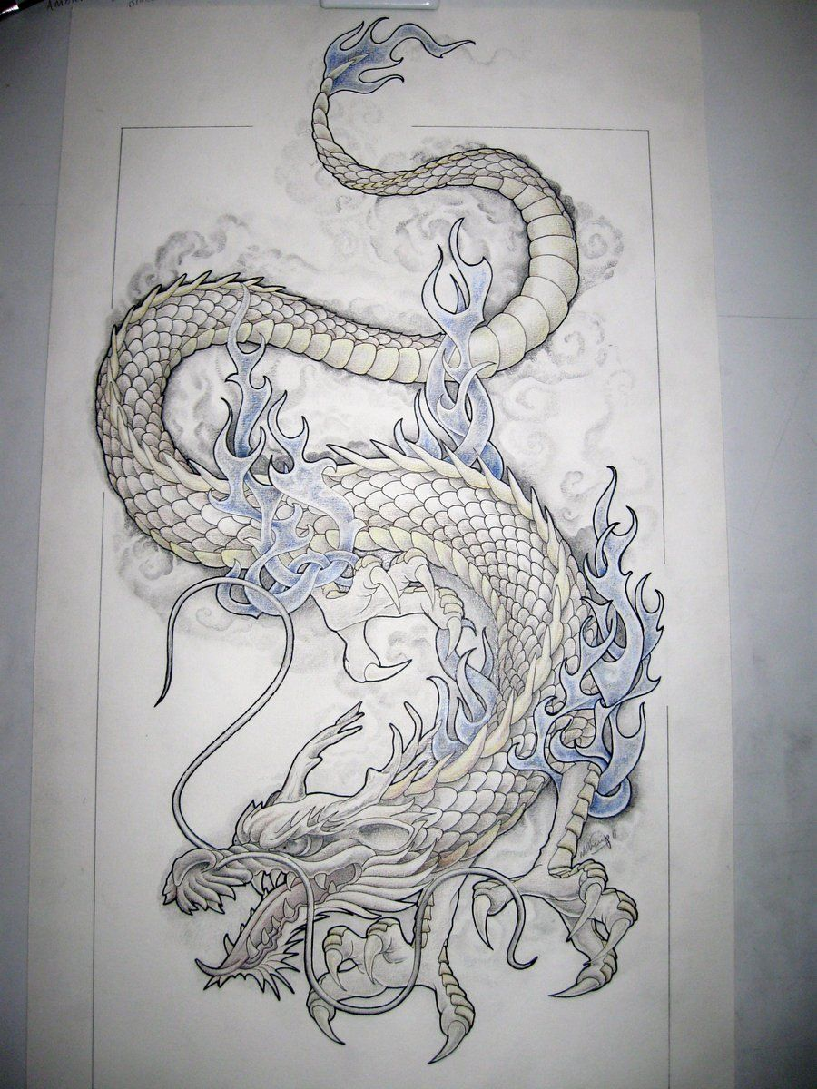 These dragon tattoo designs found their history from