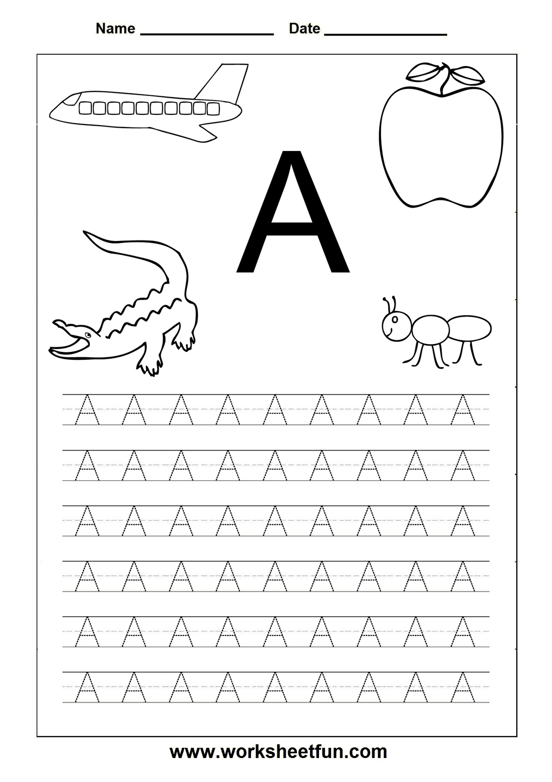 Writing Sheets Abc