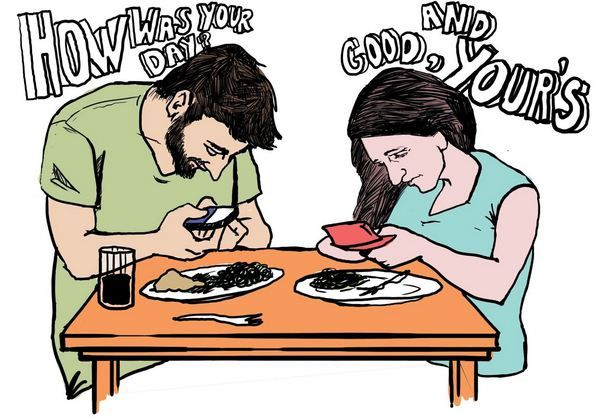 10 Funny But Thought Provoking Images Of How Smartphones Have Taken Over Our Lives 9a84d56ab5c1d5c80c89b49ebb18a224