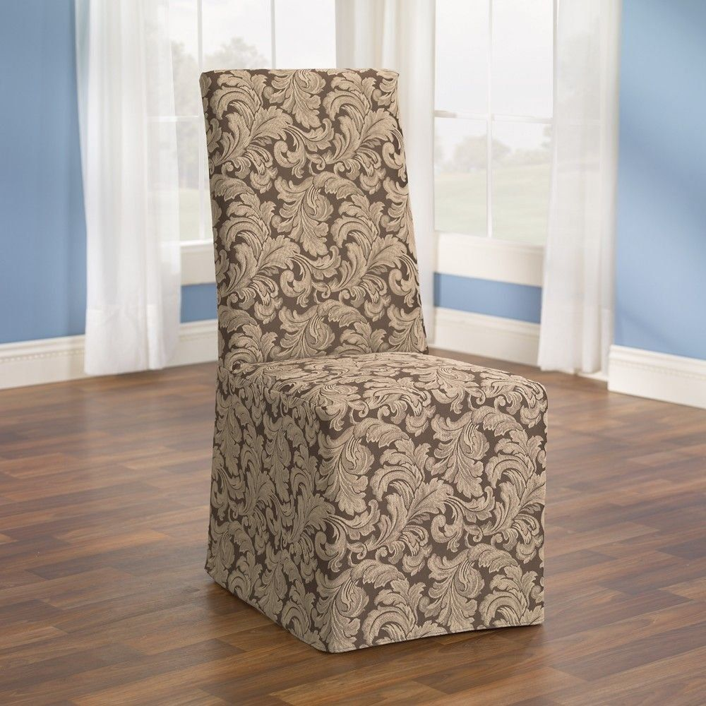 slipcovers for dining room chairs without arm in