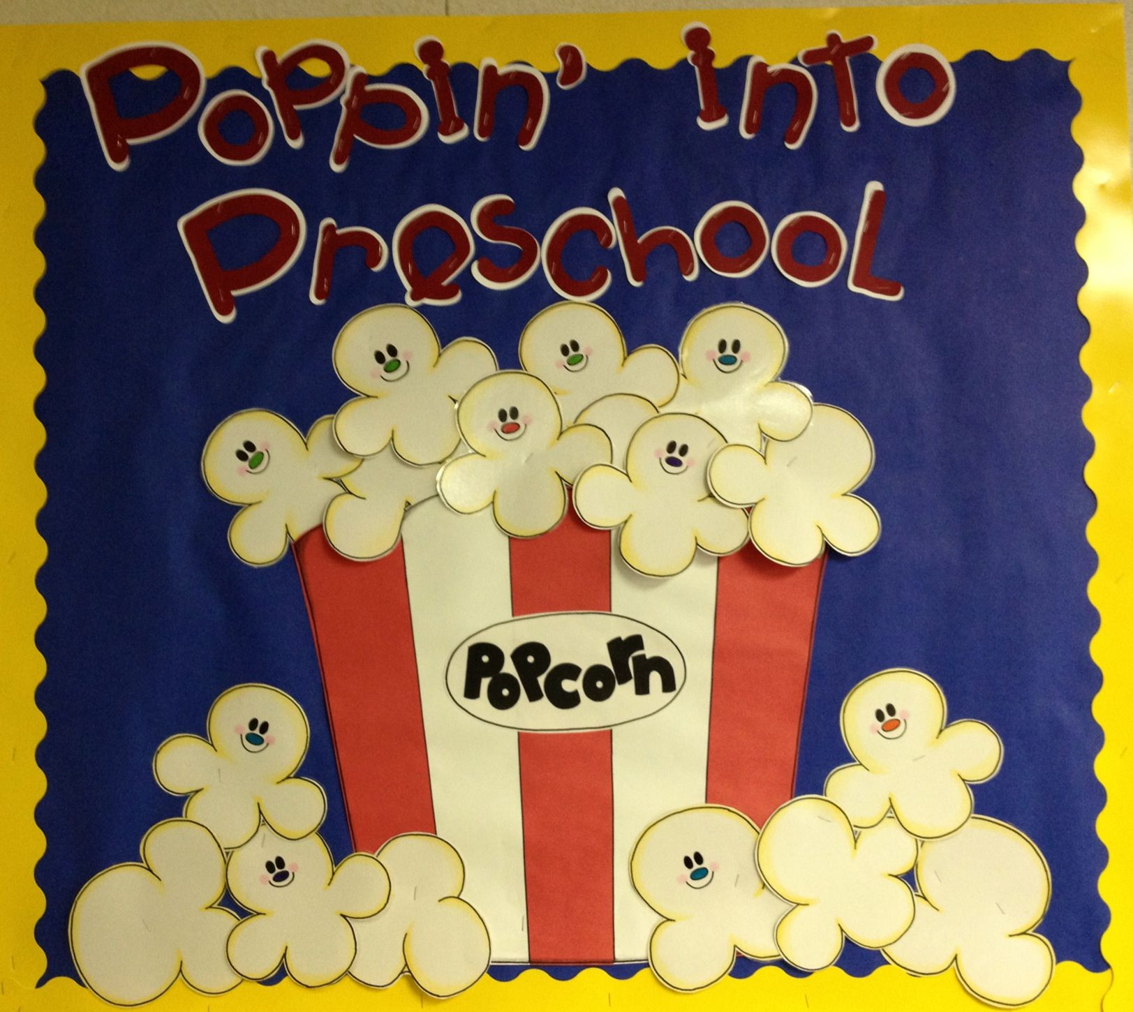 Poppin Into Preschool Makes A Cute Welcome Or Open House