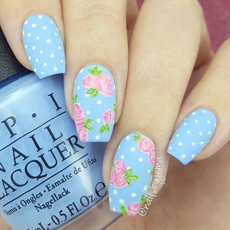 79 pretty mismatched nail art designs - nail art design ideas to try #nails #nailart #manicure