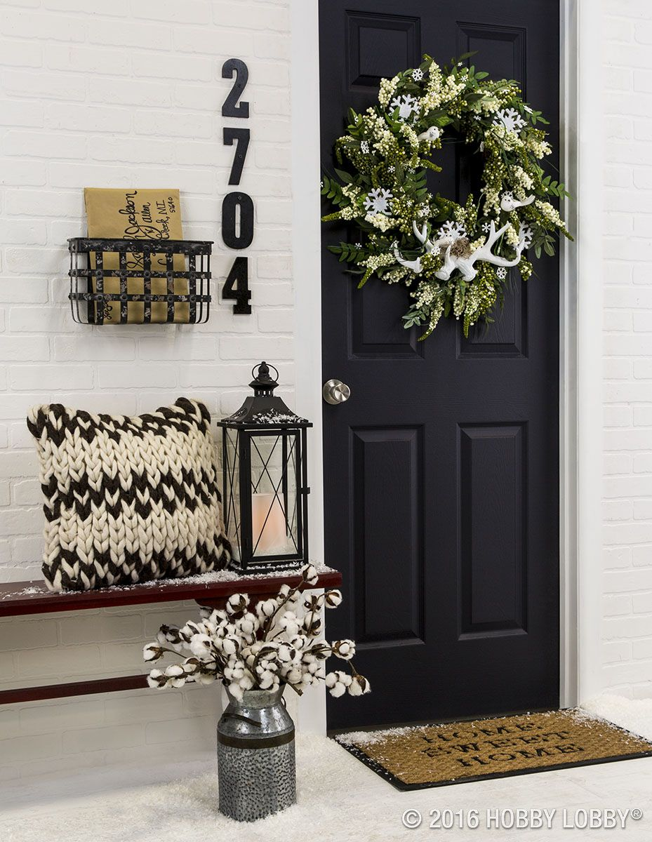 title | Grey Front Door Fall Decor