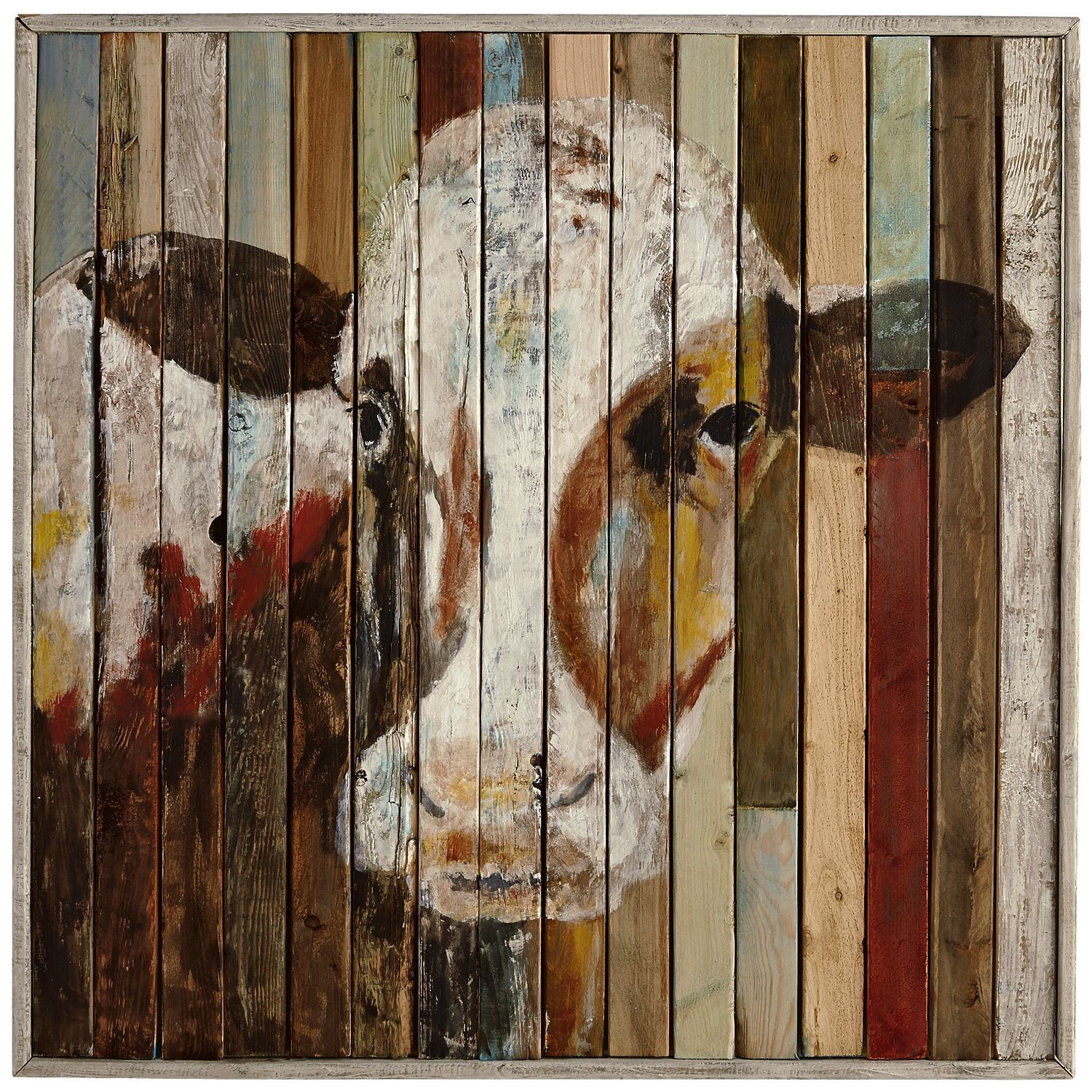 Belle of the Farm Cow Wall Art Cow wall art, Walls and