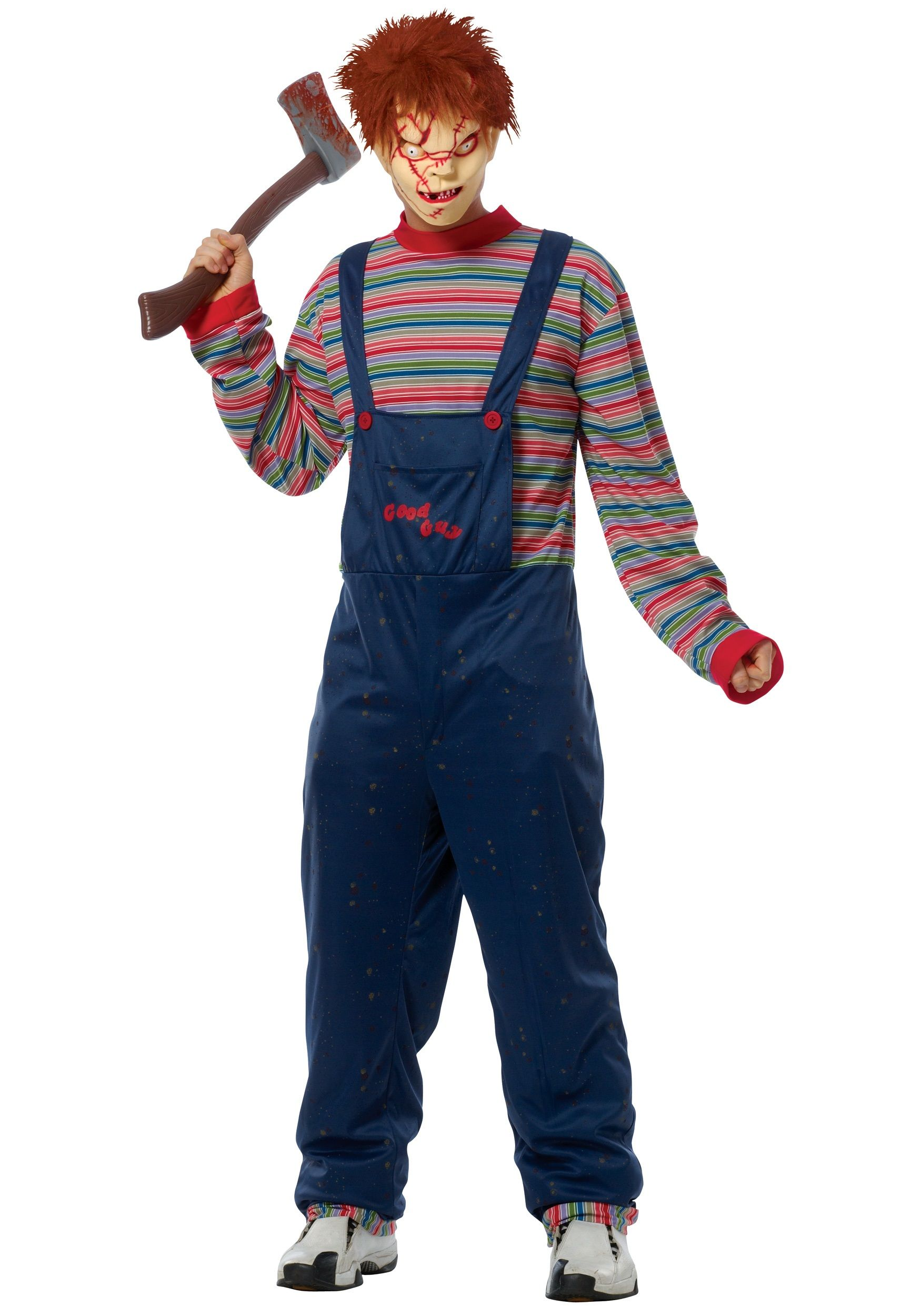 Adult Chucky Costume Best Scary Halloween Costumes
