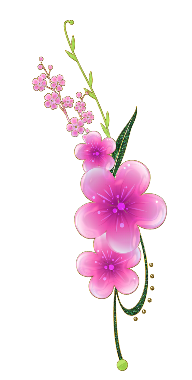 sweet pink flowers png by Melissatm GREAT GRAPHICS FOR