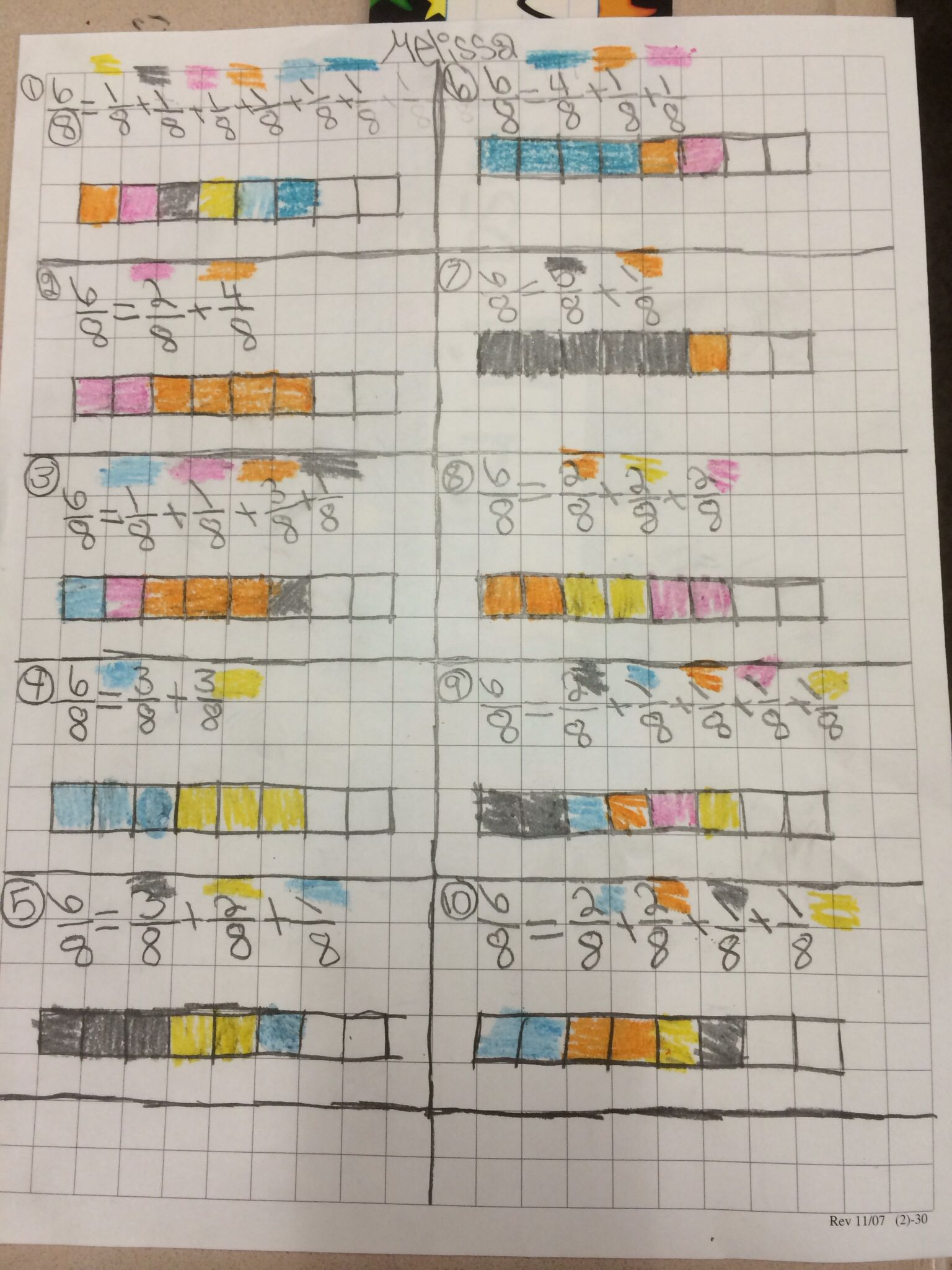 4nf3 Decomposing Fractions