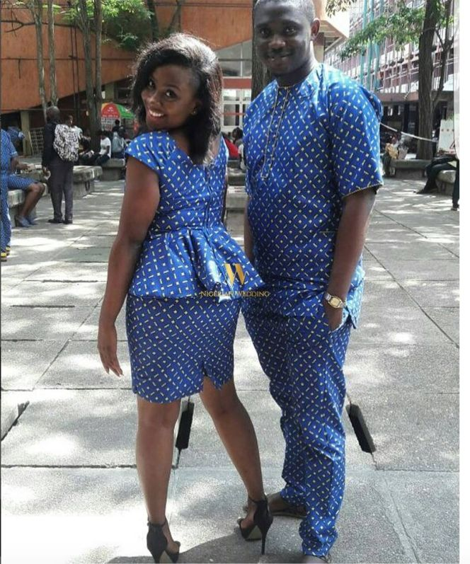Image result for couples ankara styles
