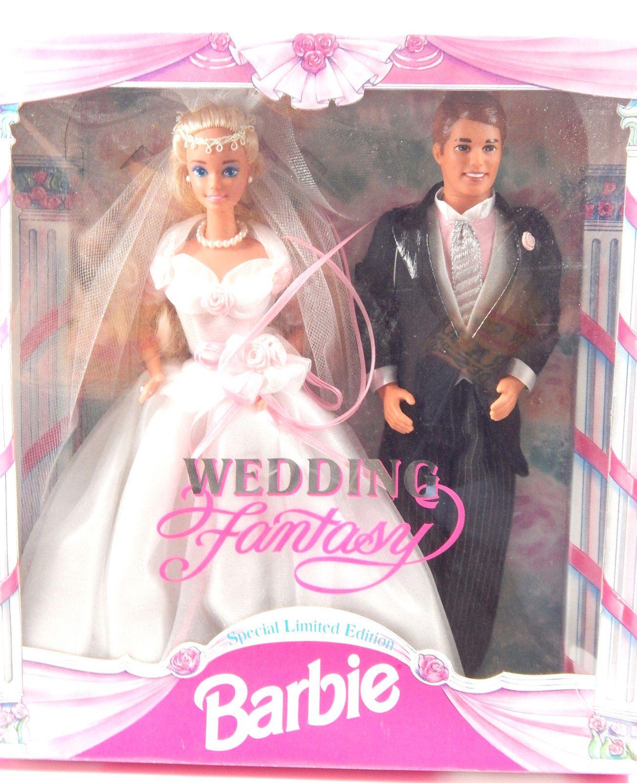 1993 Wedding Fantasy Barbie Gift Set, BARBIE & FRIENDS