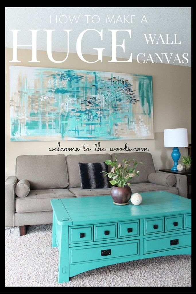 Large Canvas Wall Art Wall canvas, Living rooms and Canvases