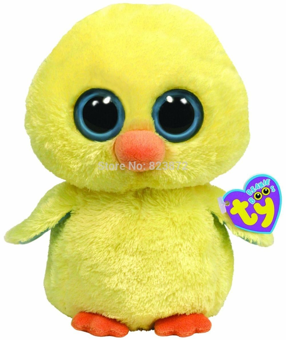 TY Beanie Boos Goldie the Chick Plush Animals 6'' 15cm Ty