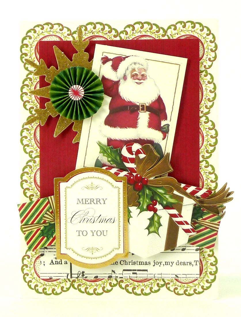 Handmade Christmas Card From The Anna Griffin Holiday