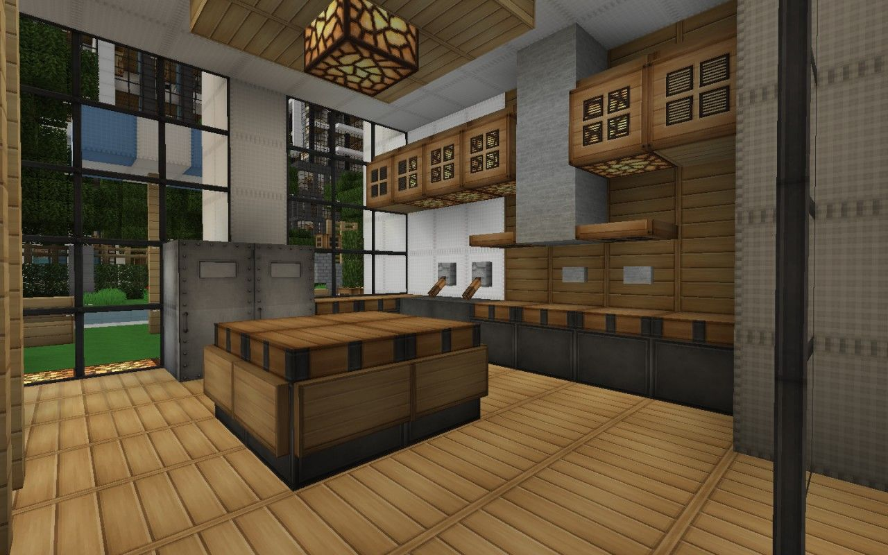 minecraft kitchen ideas 08 … Pinteres…
