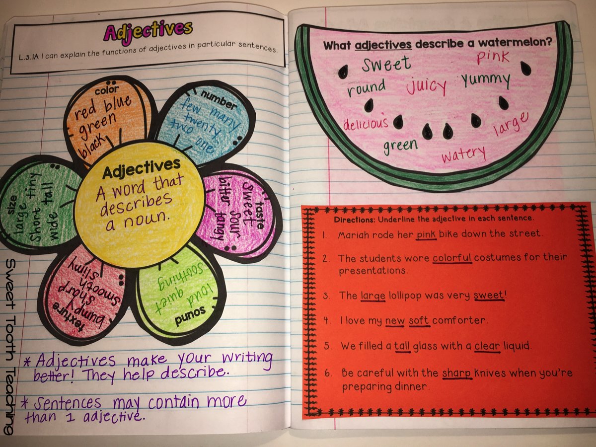 Grammar Amp Language Interactive Notebook