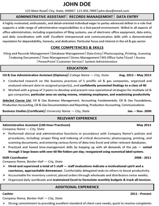 1000 images about best executive assistant resume templates amp