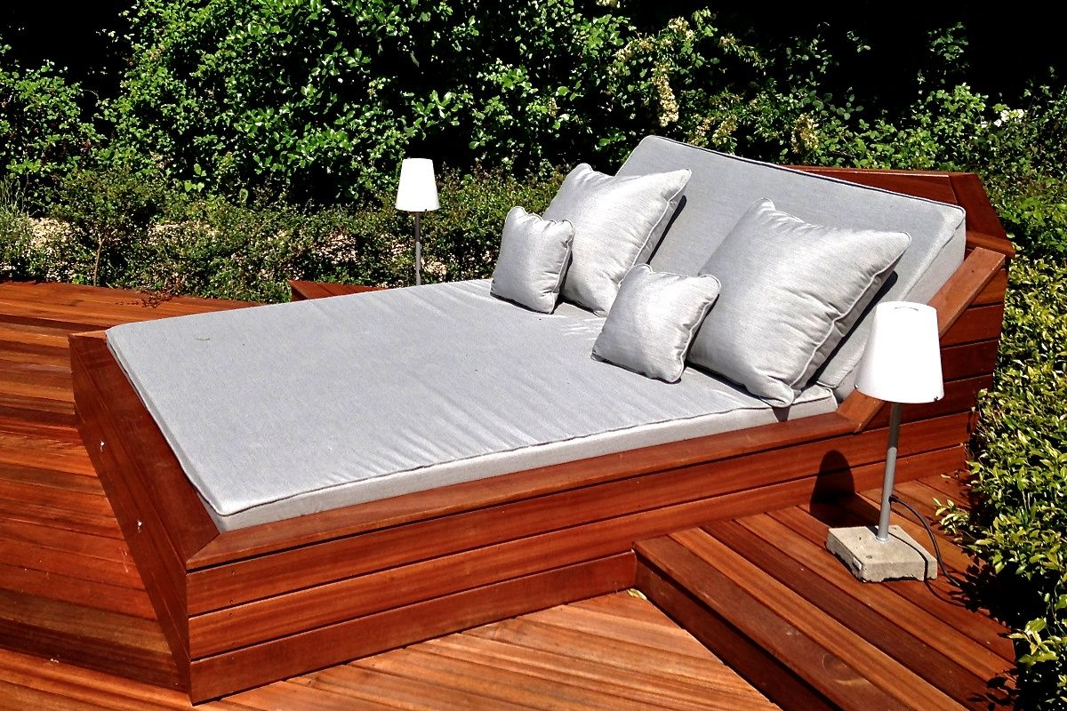 Outdoor Pool Beds overview deck Pinterest Cushions