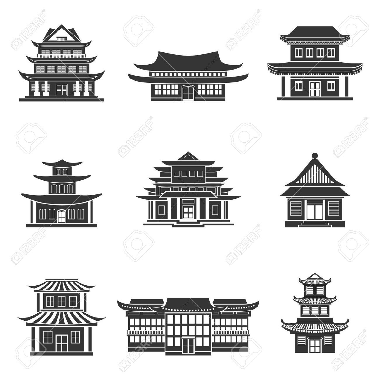 Image Result For Oriental Castle Cartoon