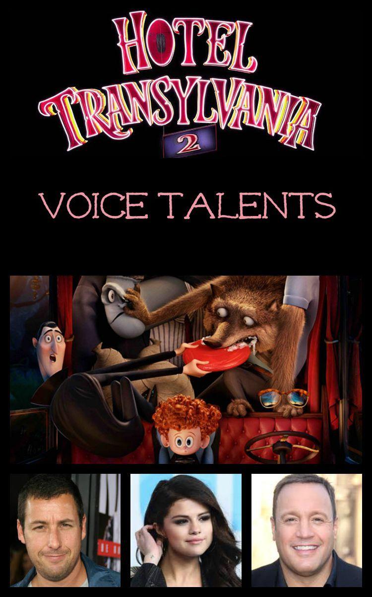 The Voice Cast of Hotel Transylvania 2 Hotel